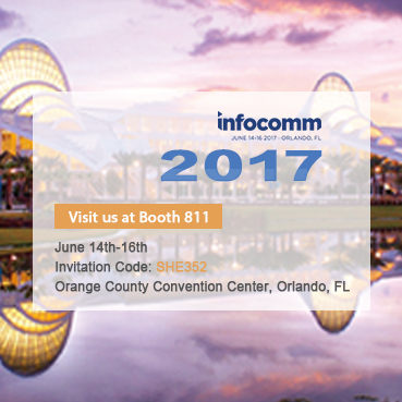 An Invitation from Colorlight to Visit Booth 811 at InfoComm 2017